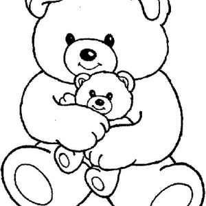 300x300 T Is For Teddy Bear Coloring Page T Is For Teddy Bear Coloring