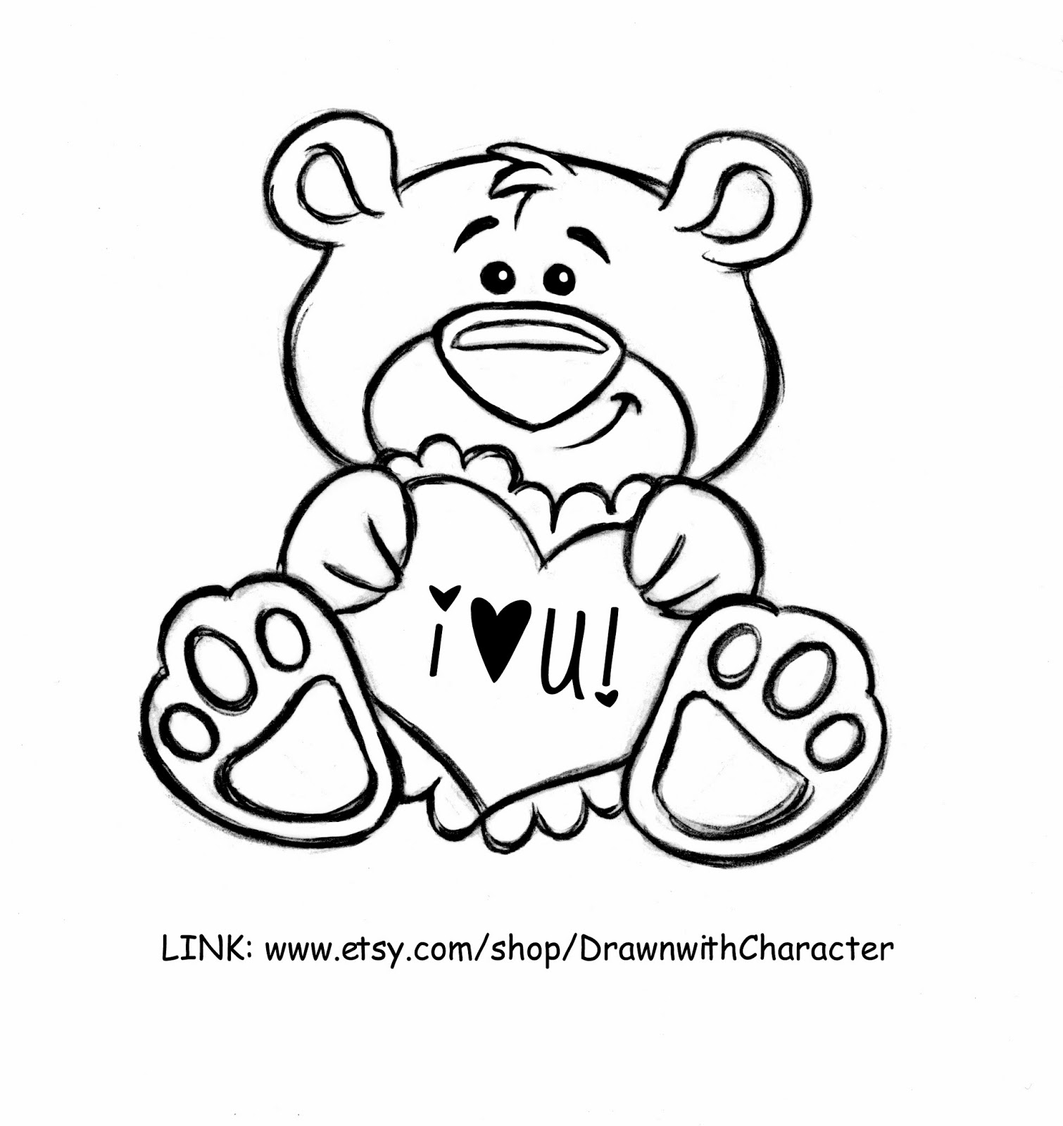 1510x1600 Cookies With Character Friday Freebie Wilton Bear Valentine Share!