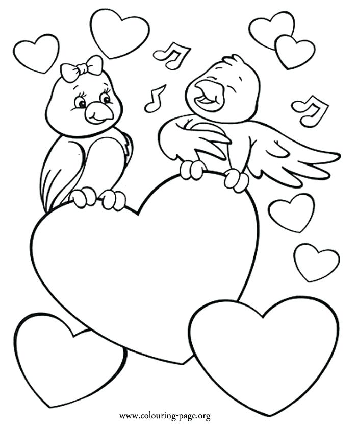 700x830 Coloring Pages Of Valentines Day Best Coloring Pages