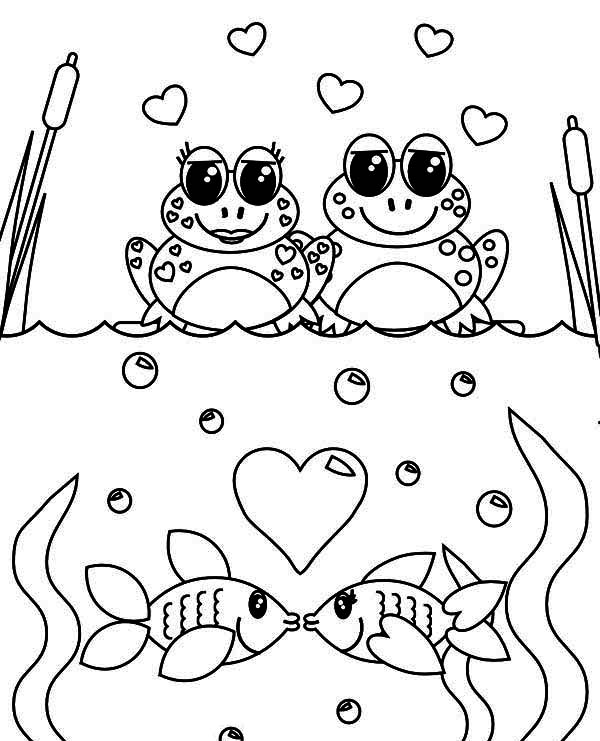 600x741 Valentines Day Online Coloring Pages Arrow Hearts Valentines Day