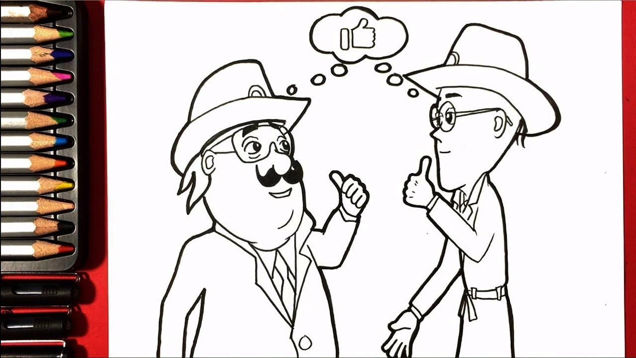 1280x720 Line Drawings Of Motu Patlu How To Draw Motu Patlu Special Photo