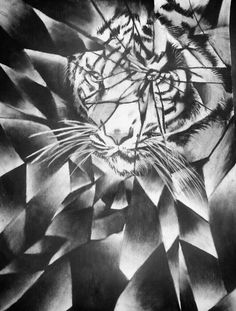 236x311 Shattered Value Drawings Grey Scale Art Drawings
