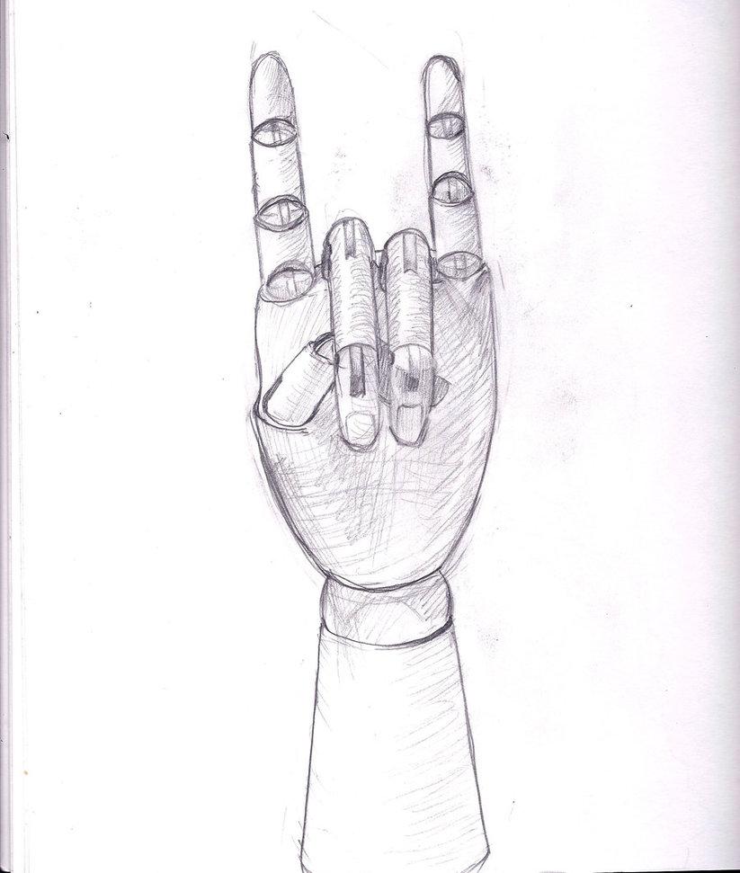 823x971 Hand Mannequinne Value Study 4 29 12 By Subatomik