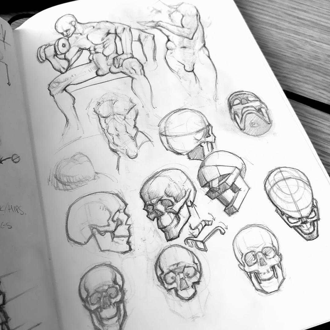 1080x1080 Sketches Amp Doodles