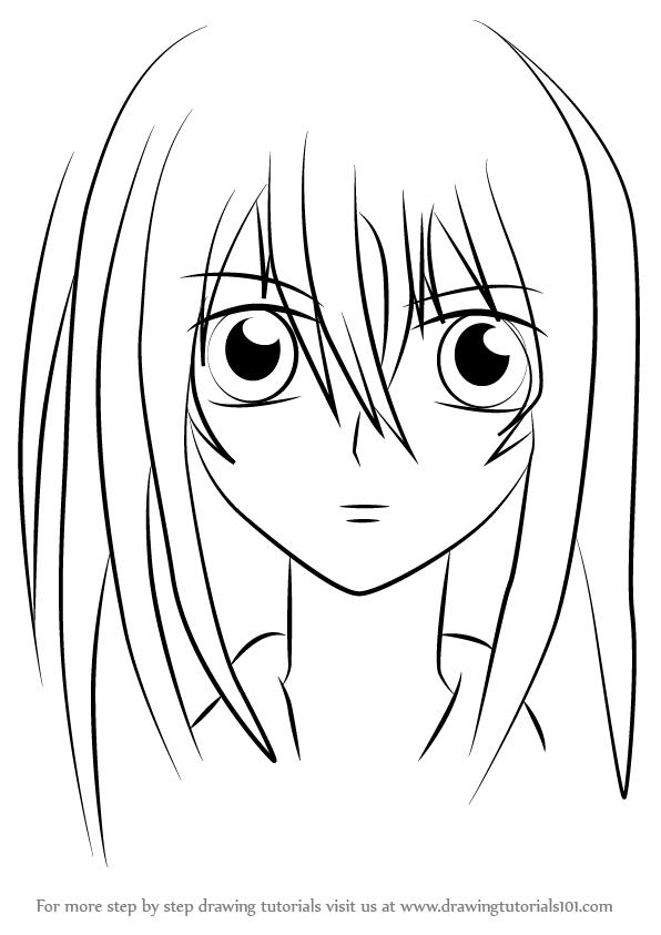 596x843 Learn How To Draw Yuki Kuran From Vampire Knight (Vampire Knight