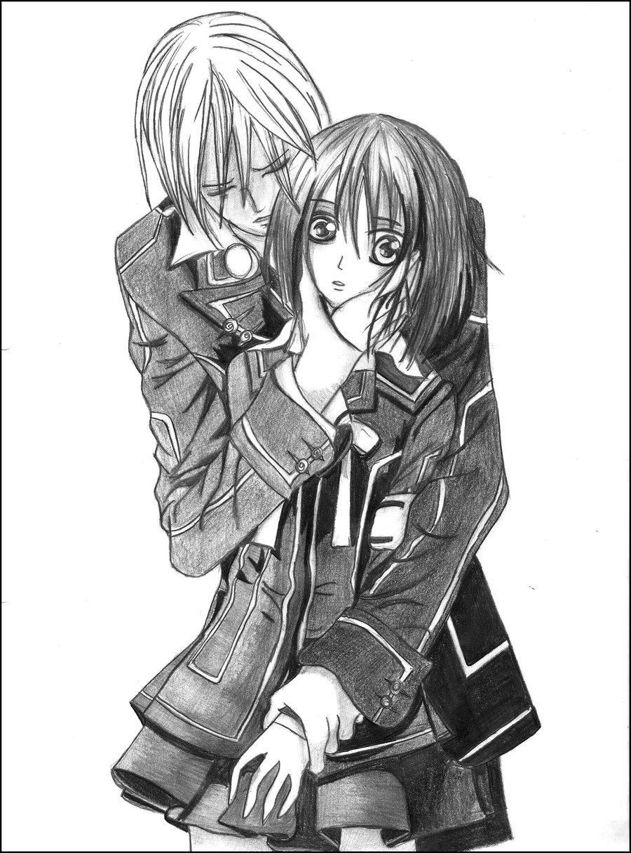 900x1215 Anime Vampire Drawings Vampire Knightzazaaaa
