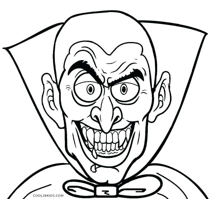 680x640 Vampire Pictures To Color Pin Drawn Vampire Vampire Face 2 Vampire