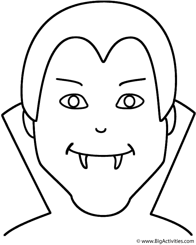 640x800 How To Draw A Halloween Vampire Step By Step, Drawing A Vampire