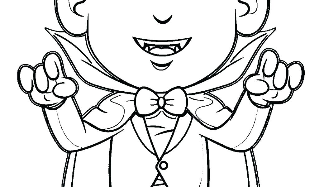 1024x600 simple vampire coloring pages best of for kids printable stunning - Vampire Coloring Sheet