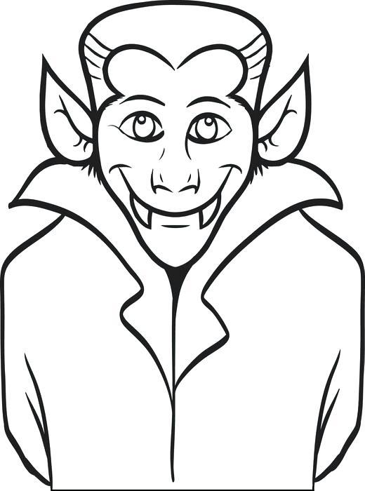 520x700 Vampire Pictures To Color Pin Drawn Vampire Vampire Face 2 Vampire