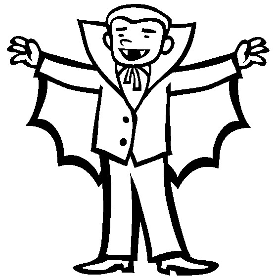 554x565 vanpir colowe pages pictures vampire costume coloring book pages - Vampire Pictures For Kids