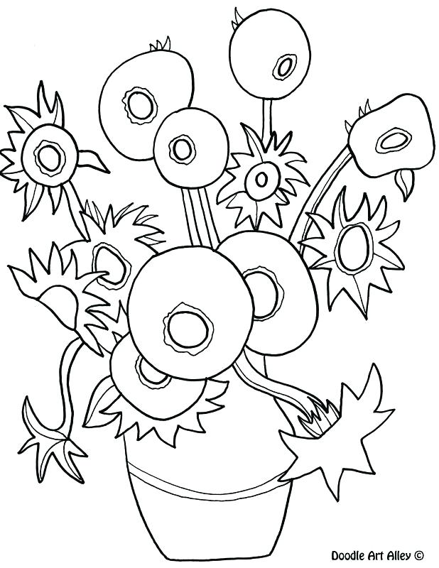 618x800 Van Gogh Coloring Pages 88 Together With Van Coloring Pages