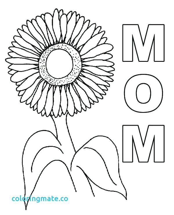 600x741 Sunflowers Coloring Pages Synthesis.site