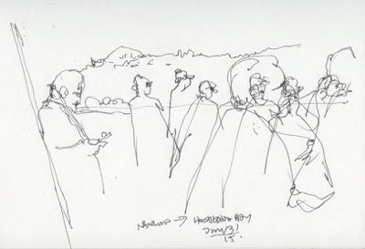 400x273 Sketching Along The Way August 2015