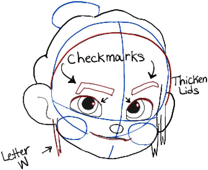 673x549 How To Draw Vanellope Von Schweetz Or Glitch From Wreck It Ralph