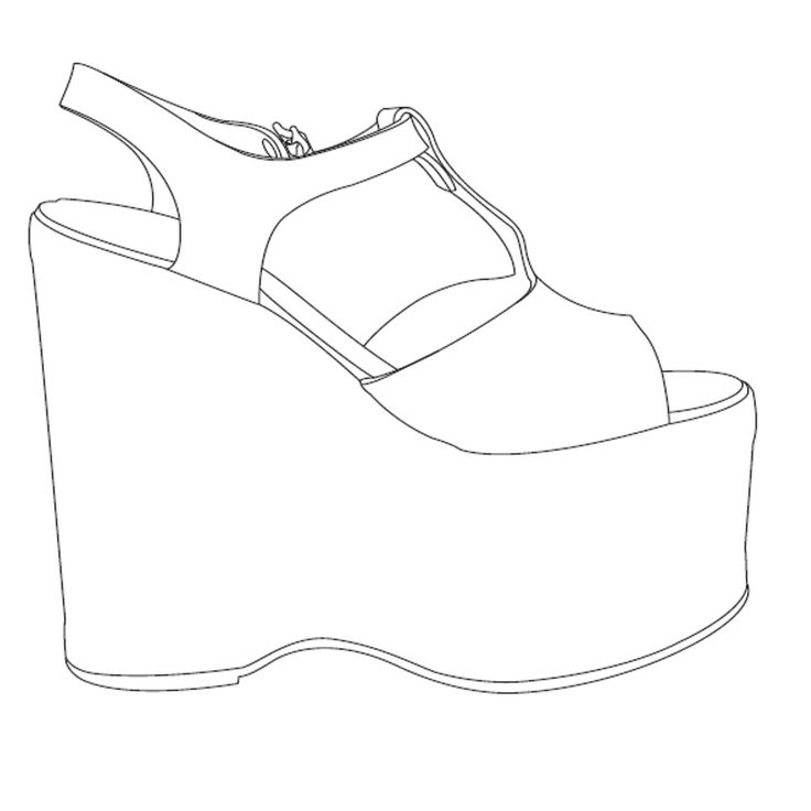 Vans Shoes Drawing
