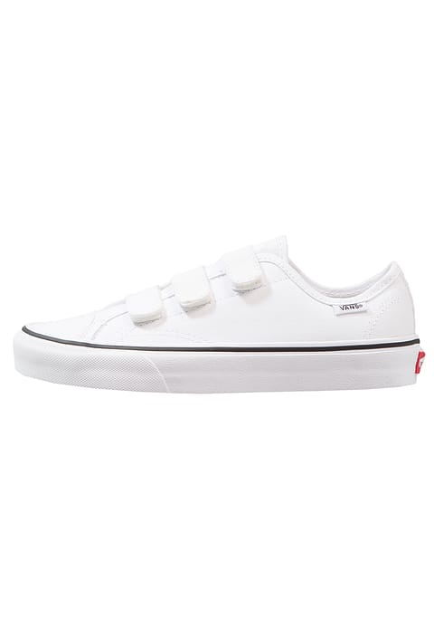 480x692 Better Vans Style 23 V Trainers True White Textile Womens Shoes