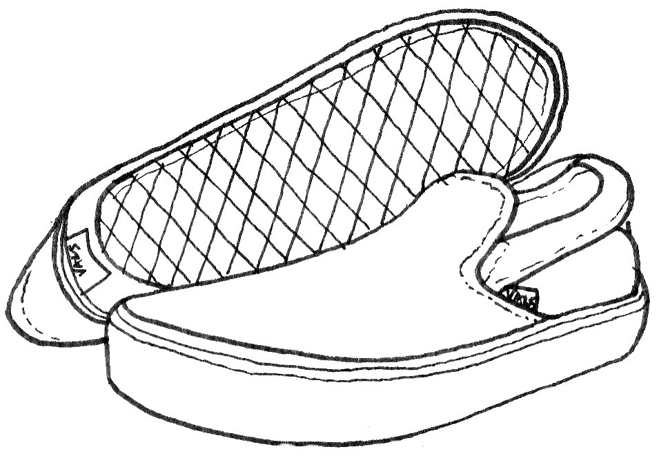 Vans shoe line drawing wiring diagrams vans shoes drawing at getdrawings com free for personal use vans rh getdrawings com converse shoe drawing vans hi tops shoe drawing maxwellsz