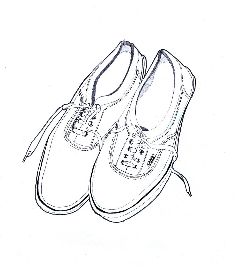 vans shoes drawing at getdrawings com