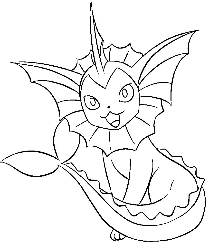 Vaporeon Drawing