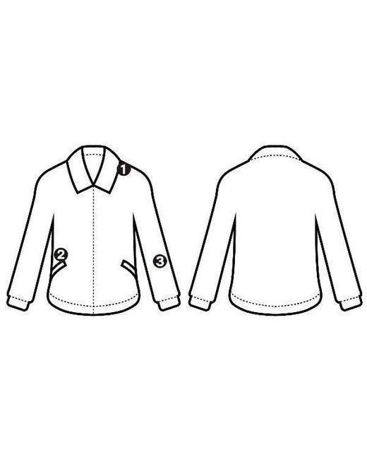 520x650 Rick Owens Varsity Jacket White 42 In White Lyst