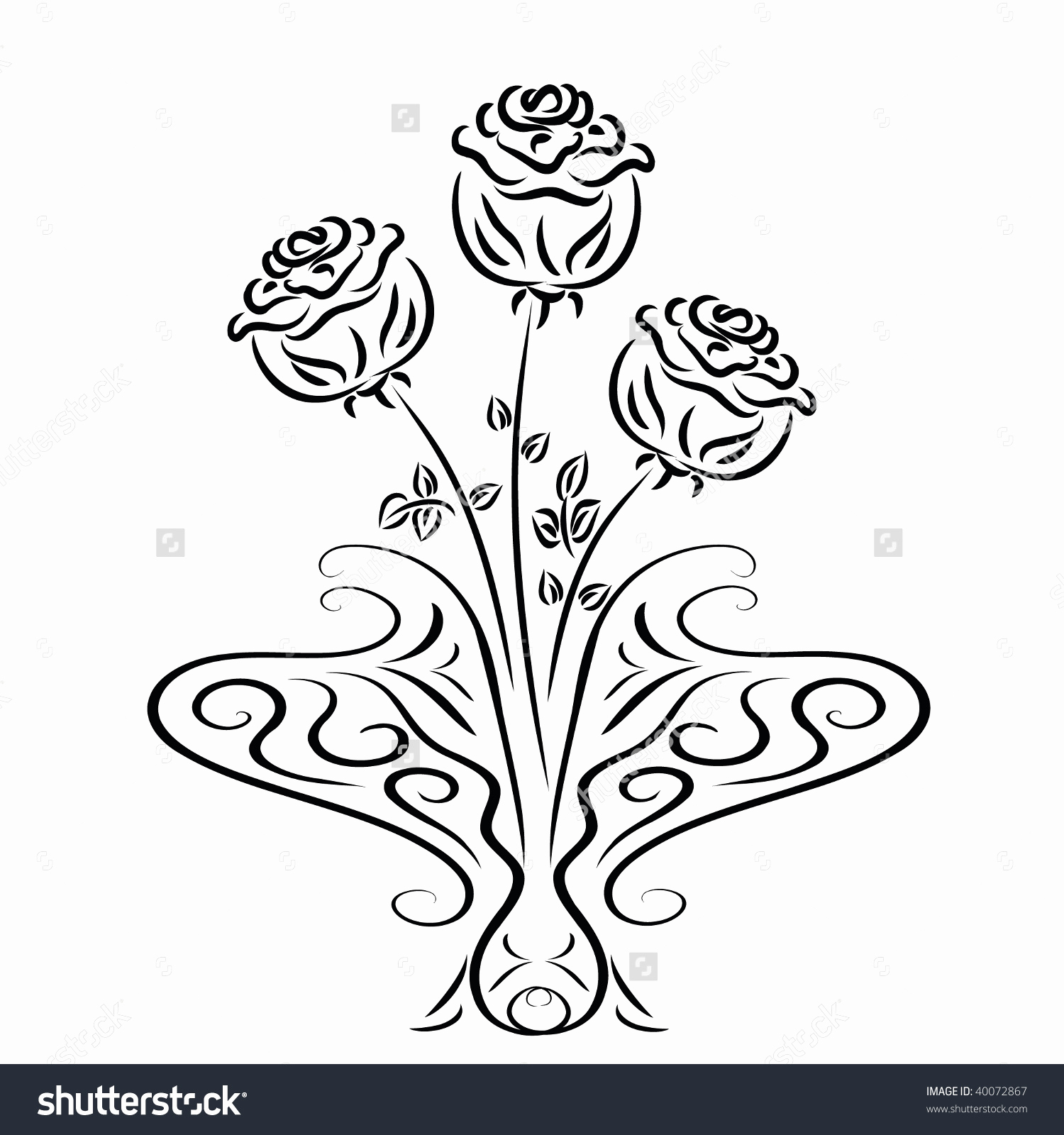 1500x1600 Flower Vase Drawing New Drawing Flower Vase With Flowers Drawing