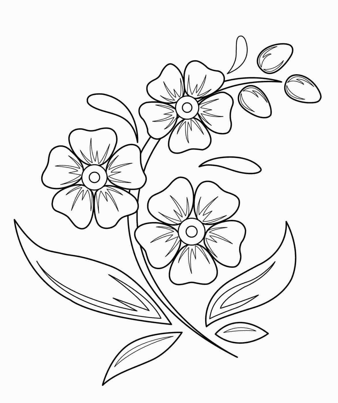 1172x1394 Flower Vase With For Kids Art Photos Flowers Drawings Flower Vase