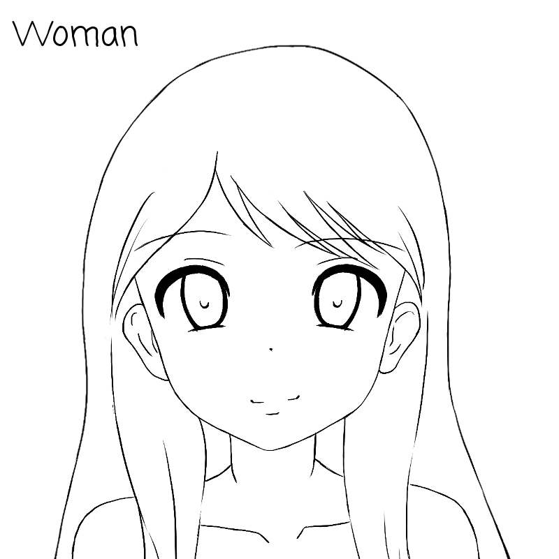 800x801 Tutoriel Manga Comment Dessiner Le Visage De Face Drawing Heads