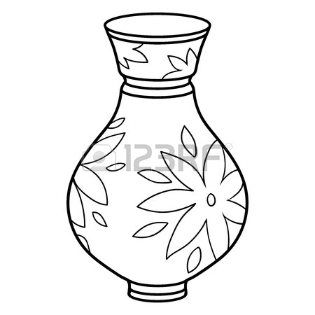 Vase Line Drawing At Getdrawings Free For Personal Use Vase