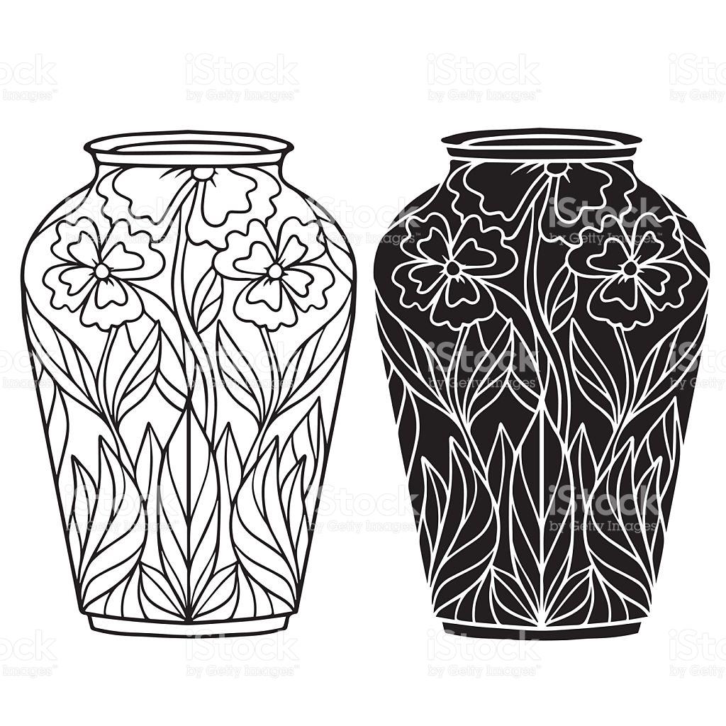 1024x1024 Drawn Vase