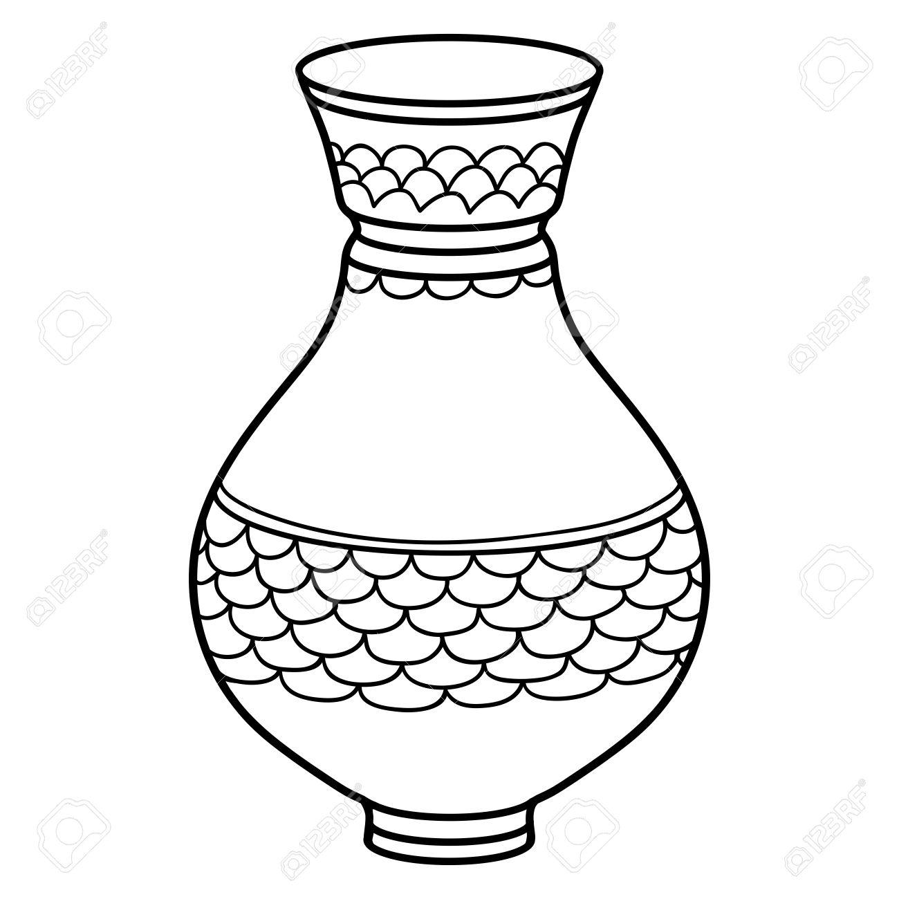 1300x1300 Drawing Of Vase Gallery