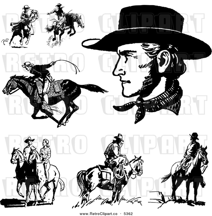 736x750 13 Best Western Graphic Images On Cowboys, Graphics