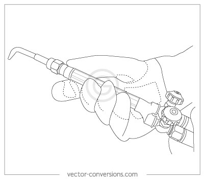 400x350 Vector Line Drawings For Manuals