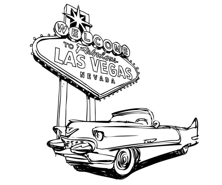 Vegas Drawing