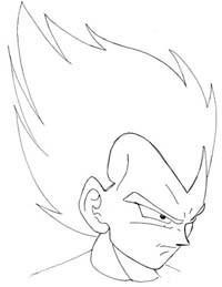 200x259 How To Draw Vegeta (From Dragon Ball Z) Manga University Campus