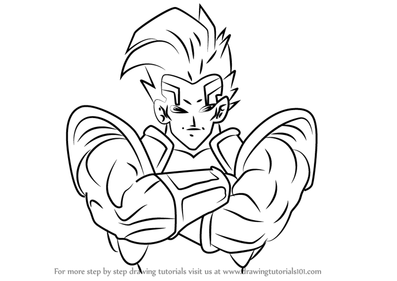 800x567 Learn How To Draw Super Baby Vegeta 2 From Dragon Ball (Dragon