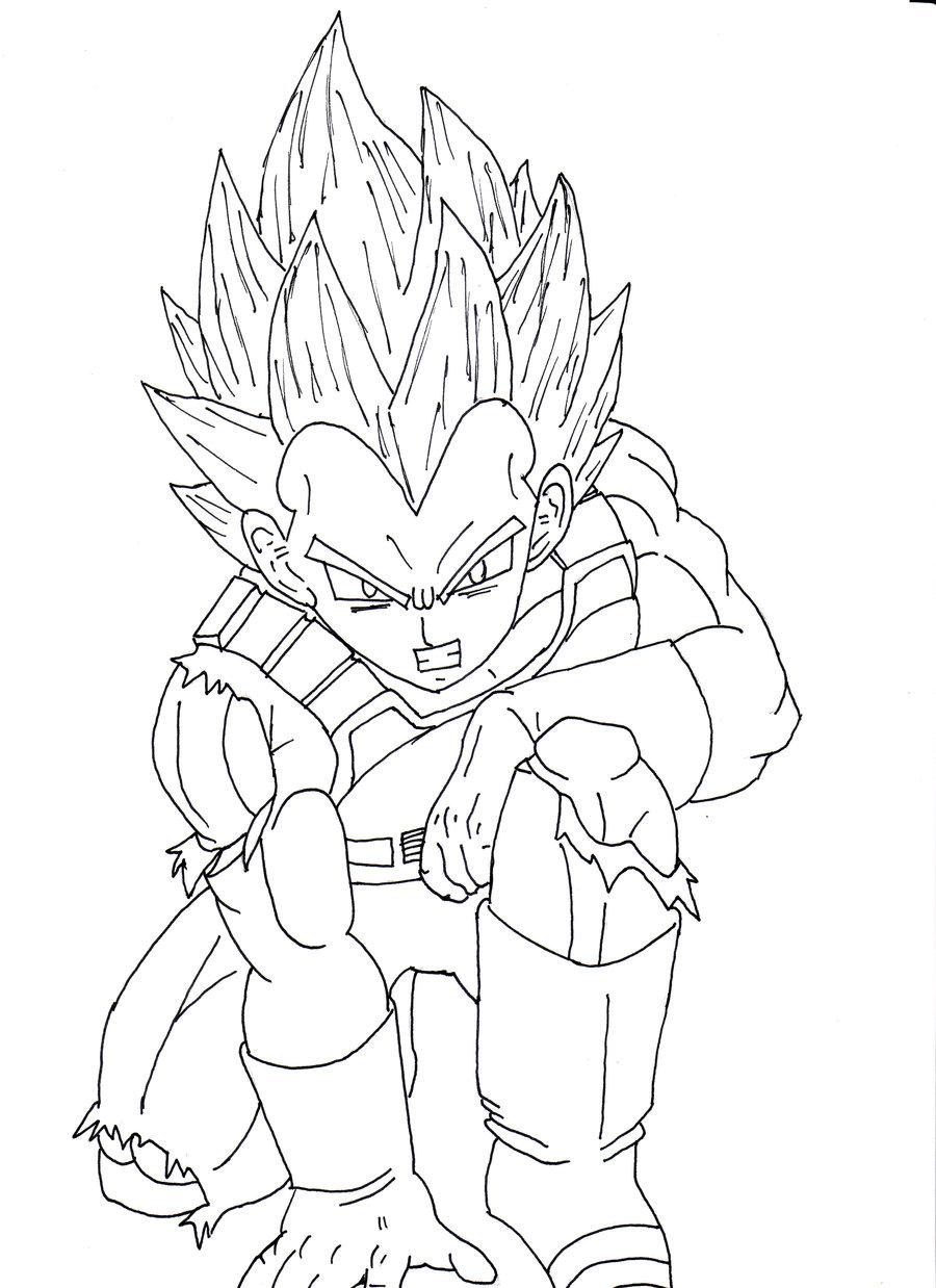 900x1238 Dragon Ball Z Vegeta Super Saiyan Drawing Hd Wallpaper Gallery