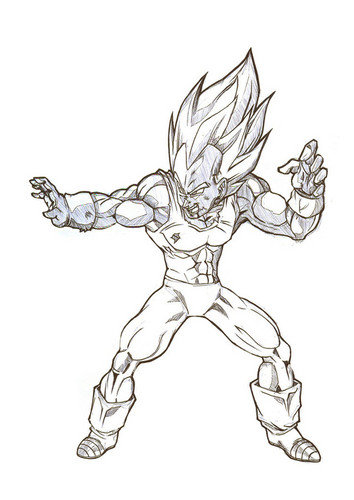 354x500 Dragon Ball Z Images Vegeta Wallpaper And Background Photos (35799745)