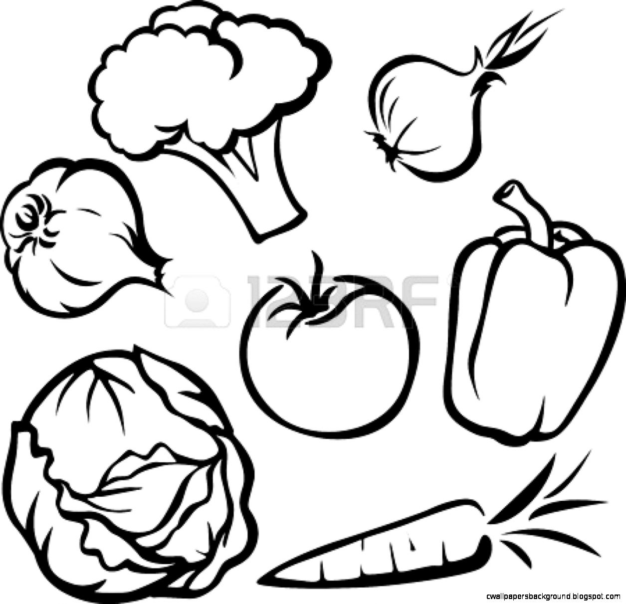 1255x1211 Vegetable Basket Clipart Black And White Wallpapers Background
