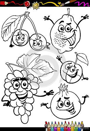 Vegetables Cartoon Drawing