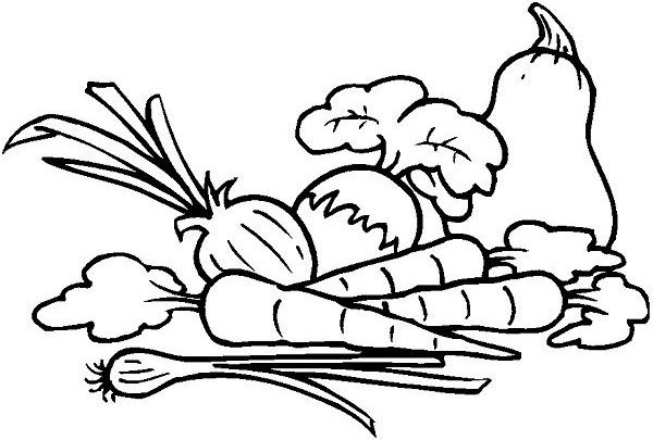 Vegetables Cartoon Drawing At Getdrawings Com Free For Personal