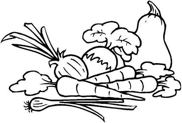 Vegetables Cartoon Drawing At Getdrawings Free Download