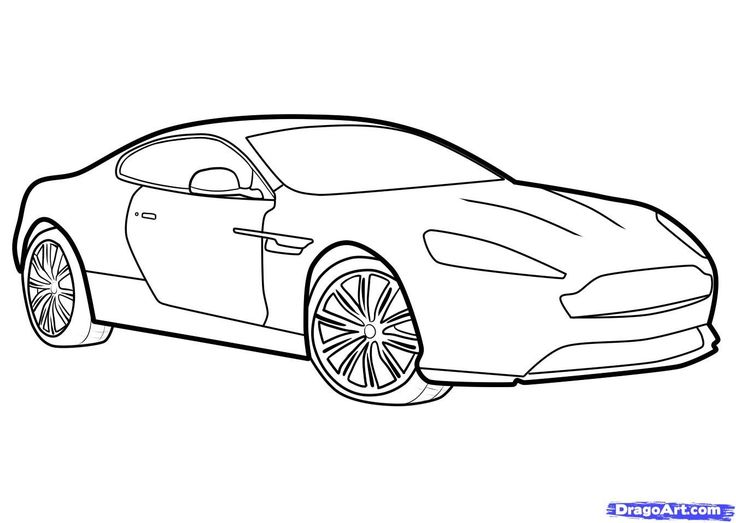 Vehicle Outline Drawing at GetDrawings.com | Free for personal use ...