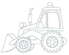 285x228 How To Draw Backhoes Howstuffworks