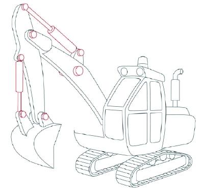 400x374 How To Draw Construction Vehicles Creativity