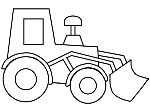 600x450 Construction Vehicle Coloring Pages Construction Vehicles Coloring