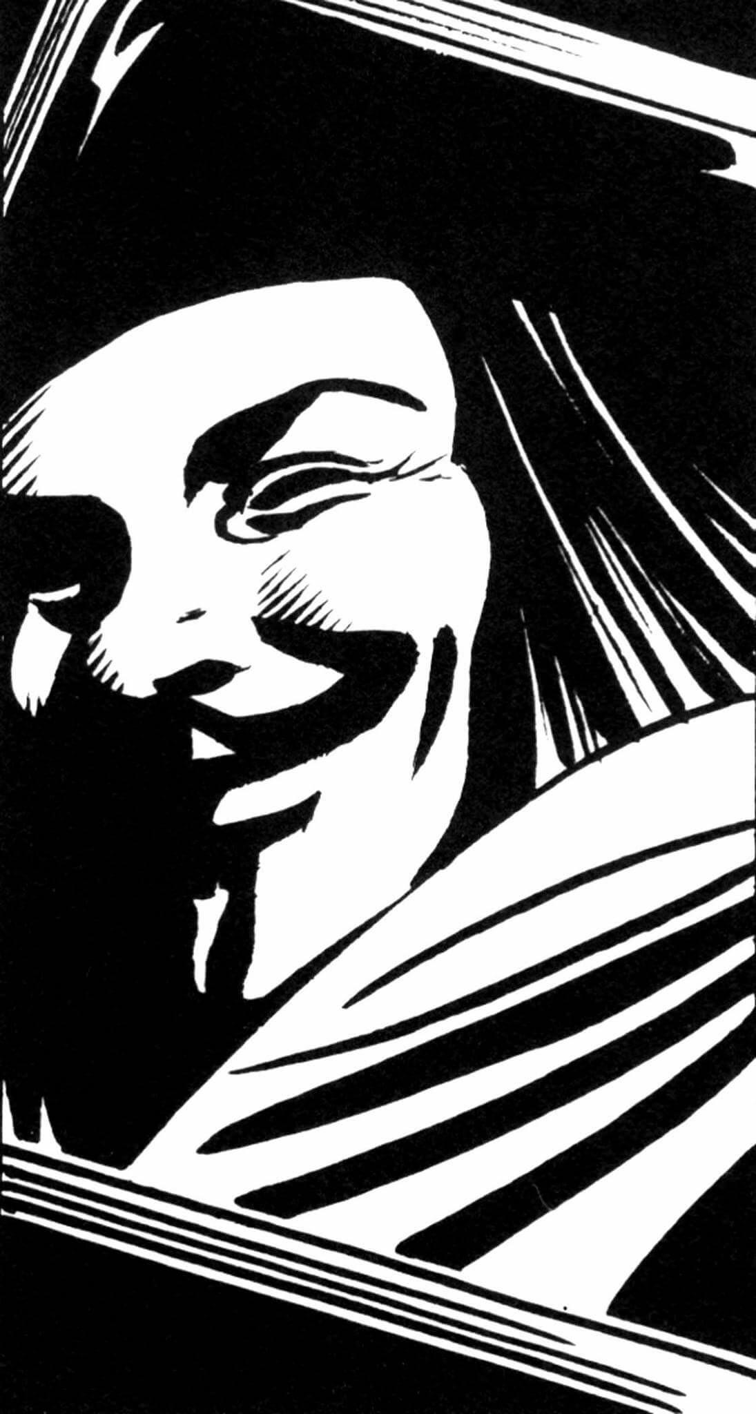 1095x2048 V For Vendetta Anime Amp Comics