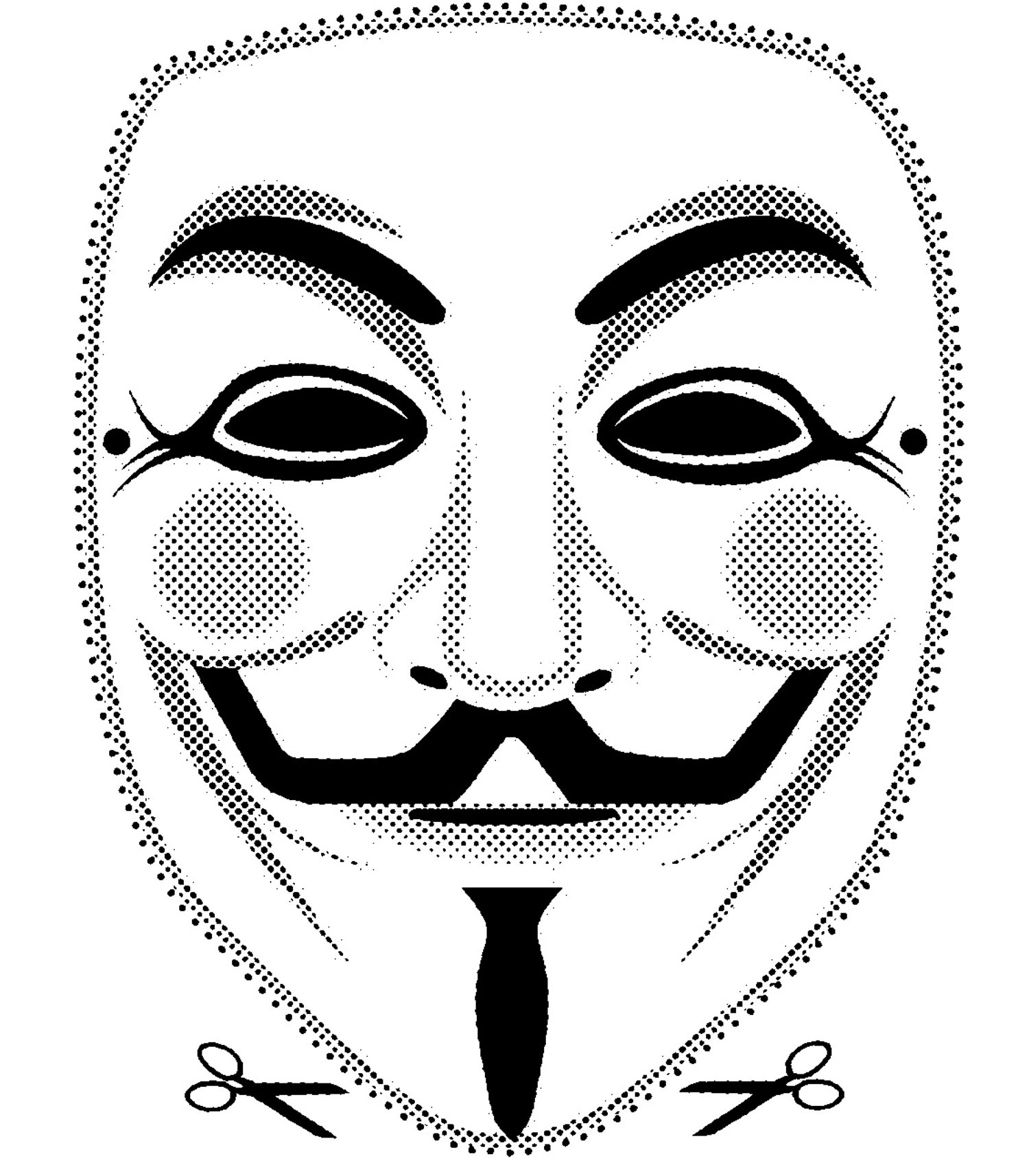 1500x1714 3 High Quality Printable Vendetta Guy Fawkes Mask Cut Out