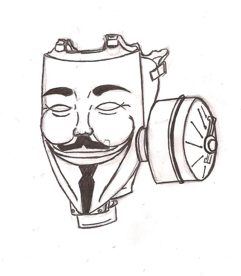 835x957 Vendetta Guy Fox Gas Mask By Chaosangel424