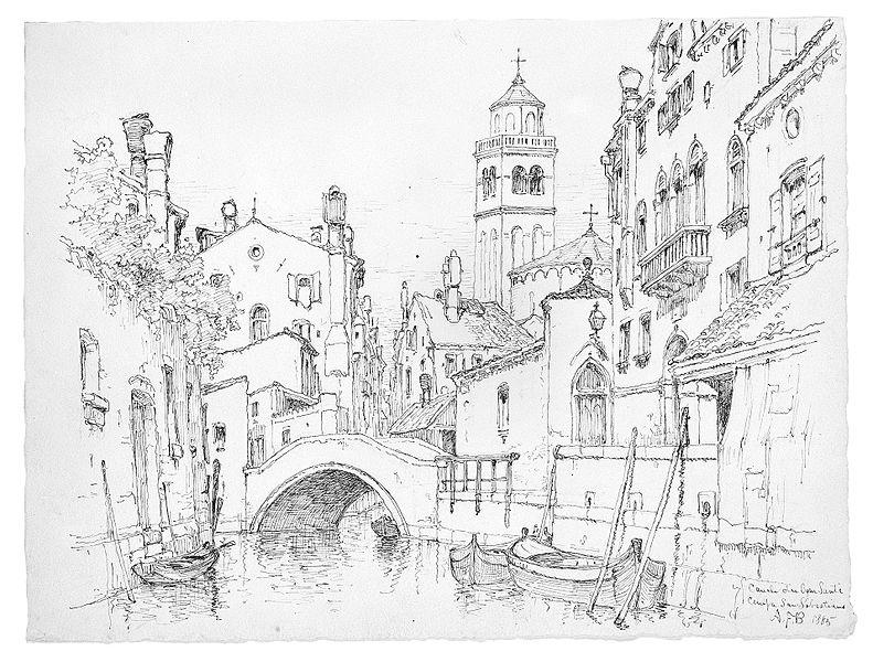 791x600 Filecanale Dei Agni Santi, Campo San Sebastiano, Venice Met Ap99